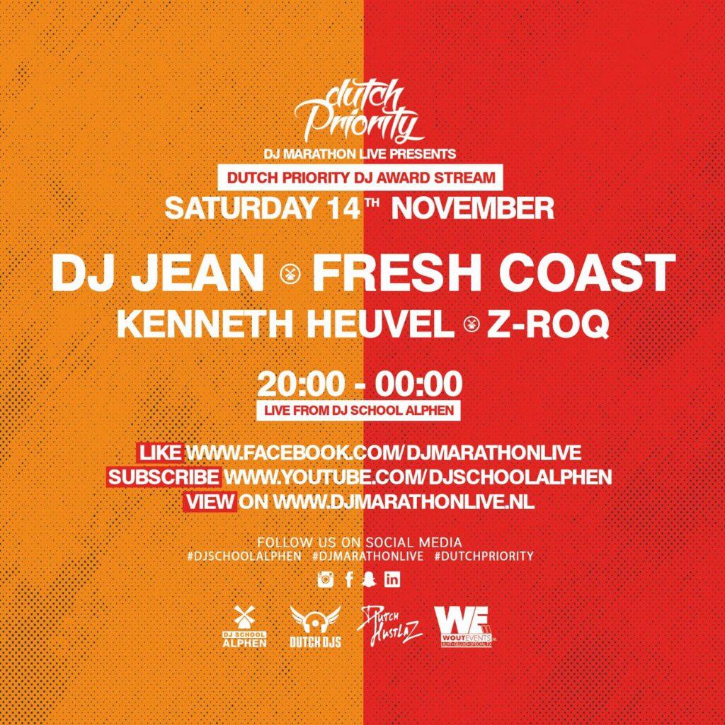 Line-up Dutch Priority DJ Award